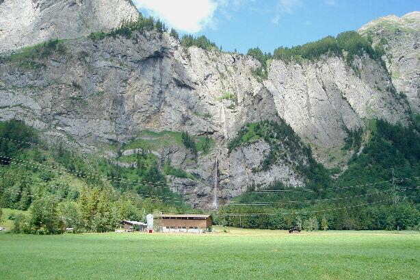 Klettersteig Allmenalp : Klettersteig allmenalp