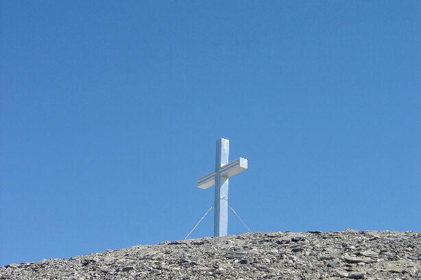 Summit cross of Üssers Barrhorn (3610m)