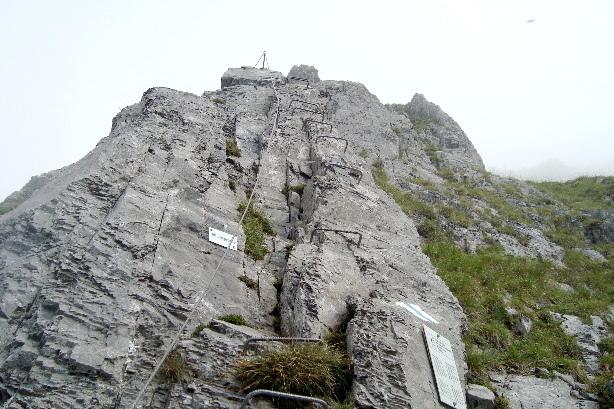 Klettersteig Engelberg : Klettersteig brunnistöckli