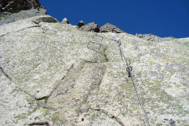 Klettersteig Krokodil : Klettersteige k bergsee krokodil