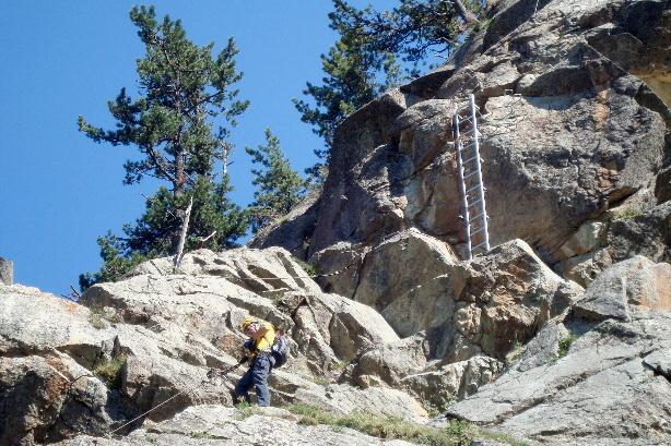 Klettersteig La Resgia : Klettersteig la resgia
