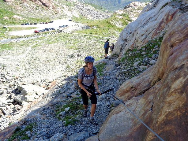 Klettersteig Tierbergli : Via ferrata tierbergli hut