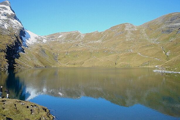 Faulhorn (2680m) und Bachsee (2265m)