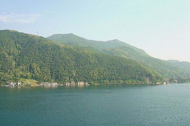 Die andere Seeseite vom Luganersee / Lago di Lugano