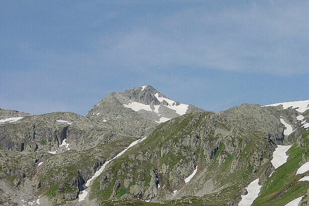 Sidelhorn (2764m) vom Grimselpass  The Sidelhorn (2764m) from Grimsel pass