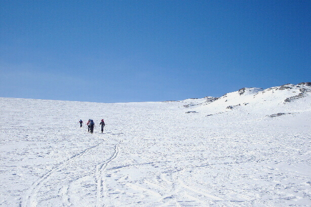 On the Glacier des Audannes