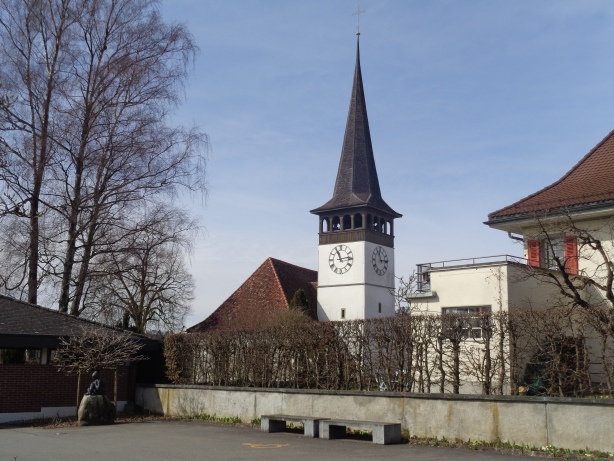 Church of Wohlen nearby Berne
